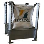 Galvanized big bag frame support